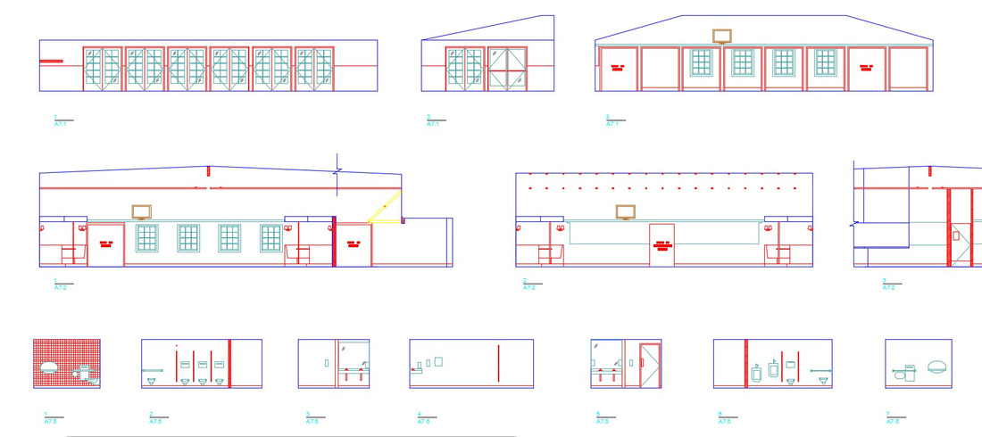 Commercial Interior Elevations